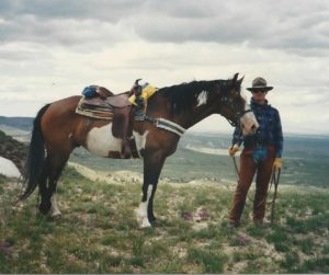 Younger Me in the Bighorn Mountains Before SaddleUpAgain.com